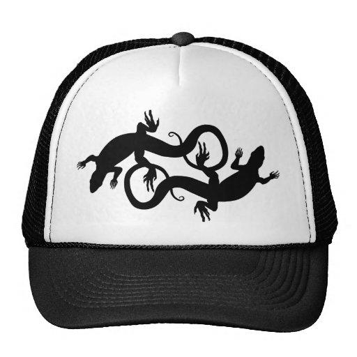 Lizard Art Baseball Caps Lizard Trucker Hats