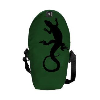 Lizard Art Messeger Bag Retro Reptile Bags & Gifts