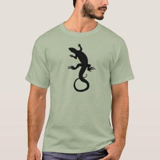 Lizard Art T-shirt Retro Green Lizard Shirts