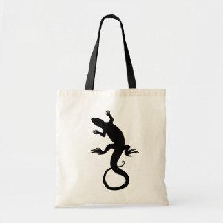 Lizard Art Tote Bag Retro Reptile Art Shopping Bag