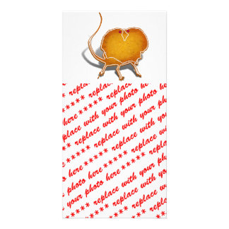 Lizard Cookie Picture Card