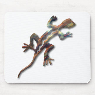 Lizard-copper Mouse Pad