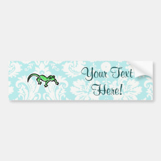 Lizard; Cute Bumper Sticker