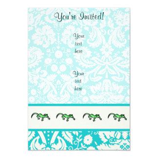 Lizard; Cute Card