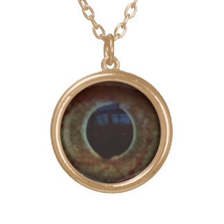 Lizard Eye - Gold-Tone Necklace