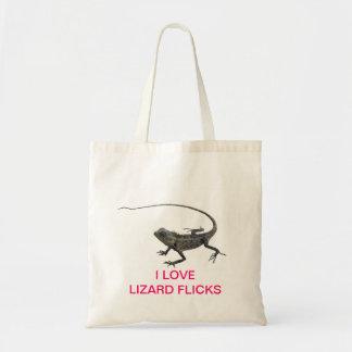 Lizard Flicks Tote Bag