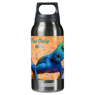 Lizard For My Lips Only Insulated Water Bottle
