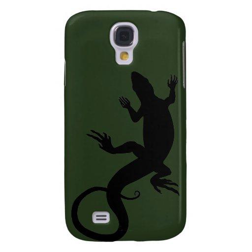Lizard Galaxy S4 Case Reptile Art Lizard Gifts