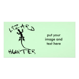 Lizard Hunter for Dogs and Pet Lovers Card