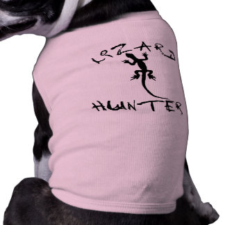 Lizard Hunter for Dogs and Pet Lovers Doggie T-shirt