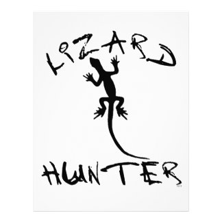 Lizard Hunter for Dogs and Pet Lovers Letterhead