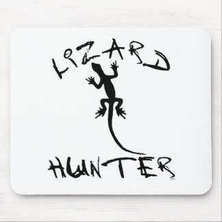 Lizard Hunter for Dogs and Pet Lovers Mouse Pad