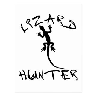 Lizard Hunter for Dogs and Pet Lovers Postcard