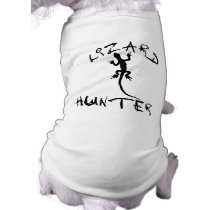 Lizard Hunter for Dogs and Pet Lovers Shirt