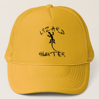 Lizard Hunter for Dogs and Pet Lovers Trucker Hat
