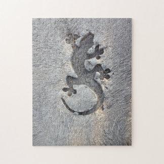 Lizard Impression - Jigsaw Puzzle