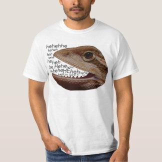 lizard laughing shirt