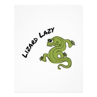 Lizard Lazy Letterhead Template