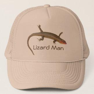 Lizard man trucker hat