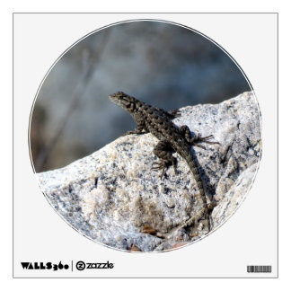 Lizard On A Rock Room Graphic