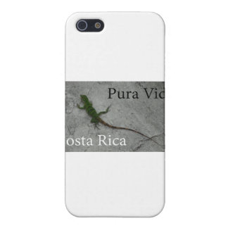 Lizard on Wall Costa Rica Pura Vida Cover For iPhone SE/5/5s
