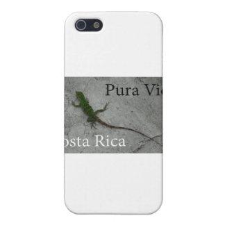 Lizard on Wall Costa Rica Pura Vida iPhone SE/5/5s Cover