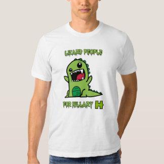 Lizard People for Hillary Tee Shirt
