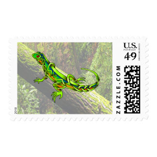 Lizard Postage Stamps