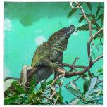 Lizard Printed Napkin