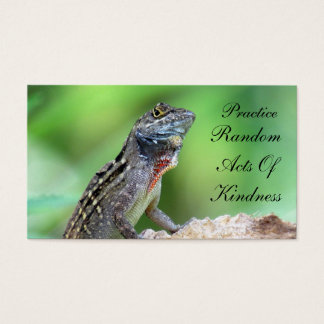 Lizard Random Acts of Kindness Card
