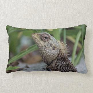 Lizard Reptile Nature Photography Pillow