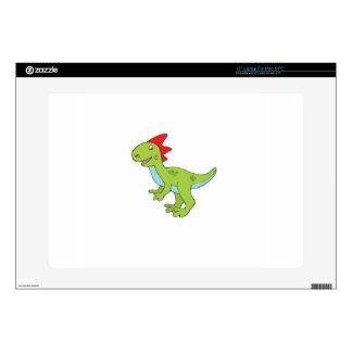 lizard rex dinosaur laptop decal