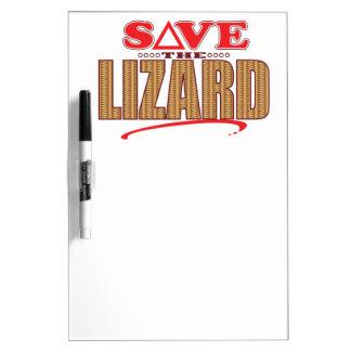 Lizard Save Dry-Erase Board
