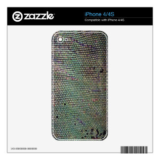 Lizard Scales Wildlife iPhone 4 Skin