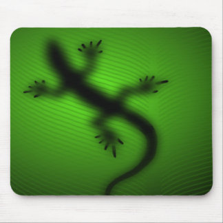 Lizard Silhouette Mouse Pad