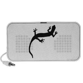 Lizard Silhouette Travelling Speakers