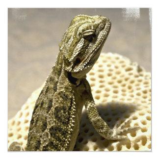 Lizard Species Invitations