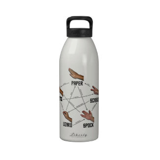 Lizard-Spock Reusable Water Bottle
