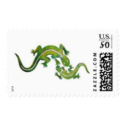 Lizard Stamp