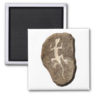 Lizard-stone Magnet
