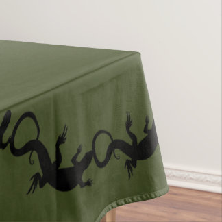 Lizard Tablecloth Reptile / Lizard Art Tablecloth