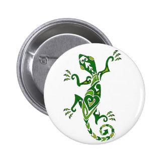 Lizard Tattoo Pinback Button