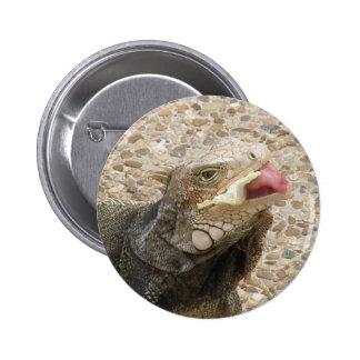 Lizard Tongue Round Pin
