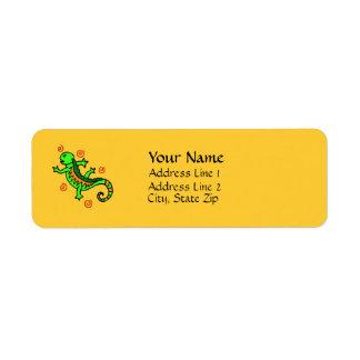 Lizard Wear Address Labels