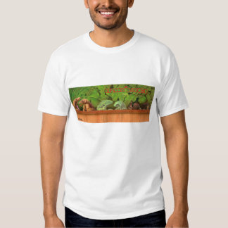 lizardloung tee shirt