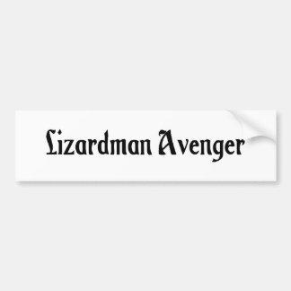 Lizardman Avenger Bumper Sticker