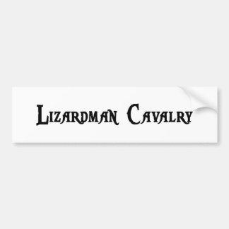 Lizardman Cavalry Bumper Sticker