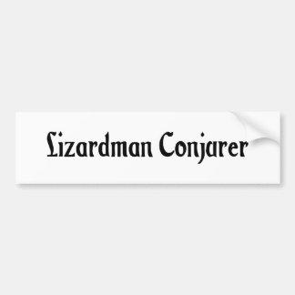 Lizardman Conjurer Sticker