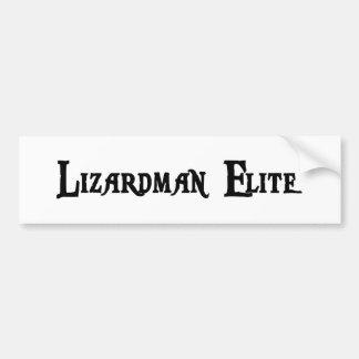 Lizardman Elite Bumper Sticker