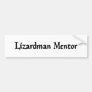 Lizardman Mentor Sticker